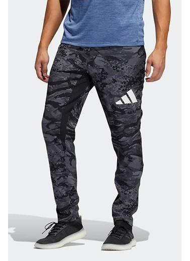 adidas Adidas Erkek Koşu - Yürüyüş Eşofman Altı 3 Bar Camo Pnt Gp6636 Siyah